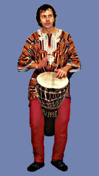 the mighty drum of west africa
