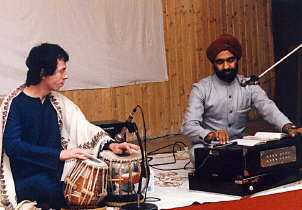 for tabla listen also to basmati blues